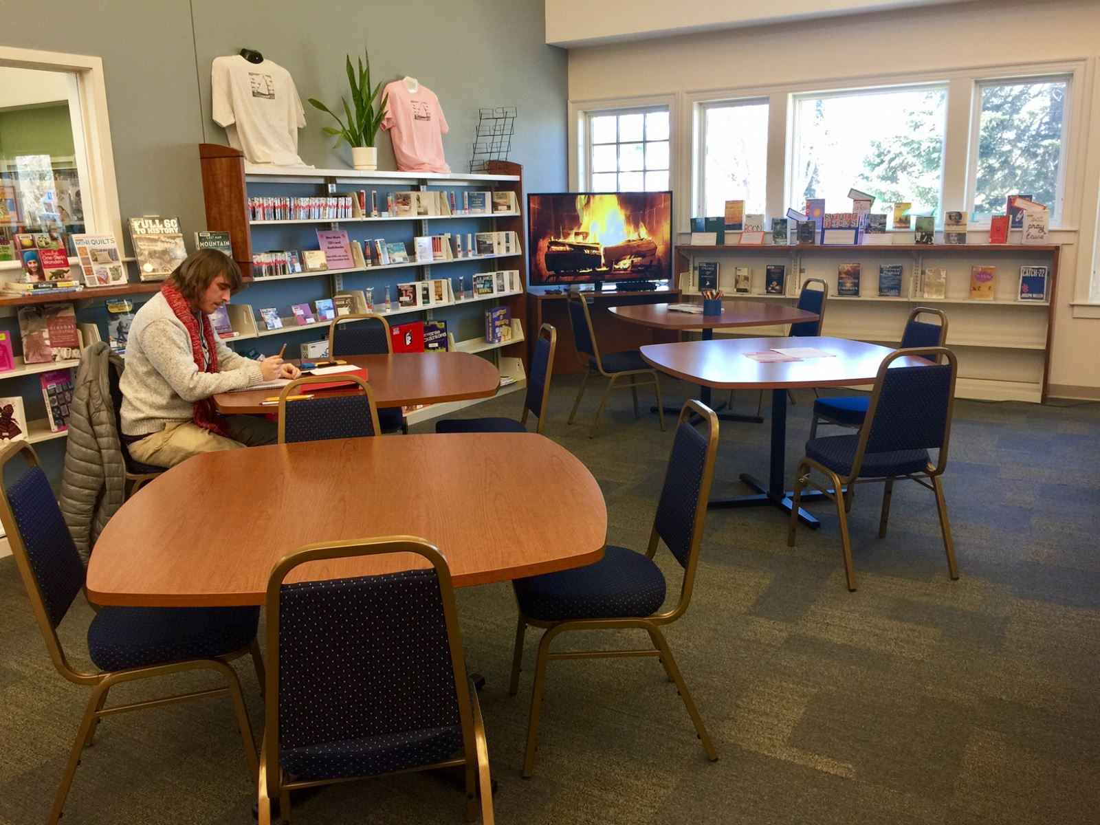 Marvelous Cape Cod Community College Library Part - 10: The Atrium Is A New Open Space Area Of The Library. The Area Features 4  Large Table And Chairs. This Spot Is Great For Impromptu Meeting, Clubs,  Crafts, ...