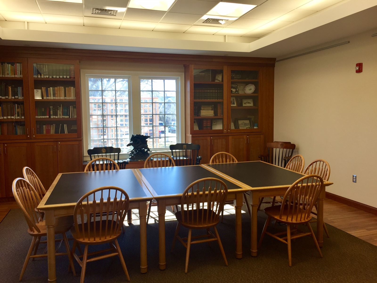 History Room at Osterville Luibrary